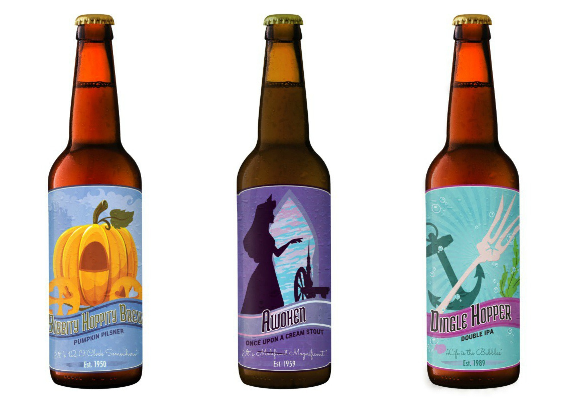 graphic relating to Printable Beer Labels identified as Printable Disney Beer Labels Will Convey A Dose Of Magic Towards